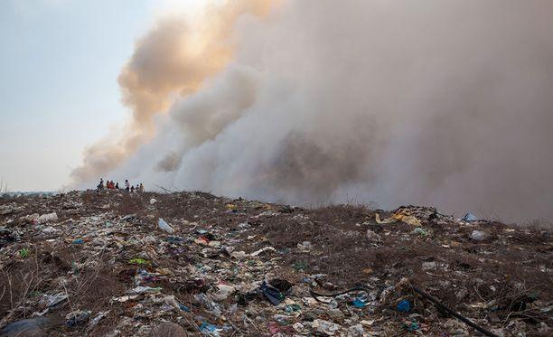 Kaatopaikka on jo pitkään aiheuttanut kaupungin asukkaille päänvaivaa. Kuvituskuva.