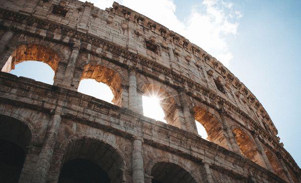 Rooman klassikkokohde Colosseum oli Tripadvisorin tilastojen mukaan vuoden 2018 suosituin nähtävyys.