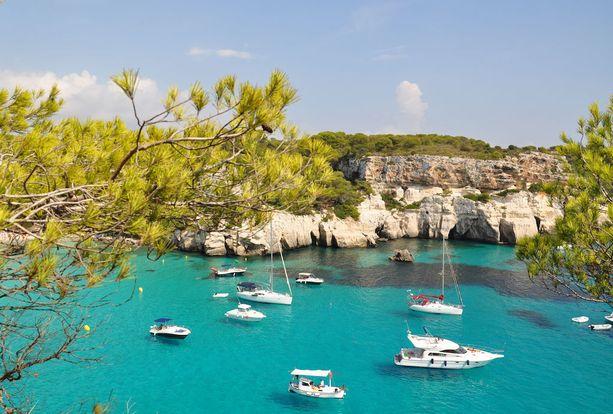 Menorca sopii rauhaa kaipaavalle.