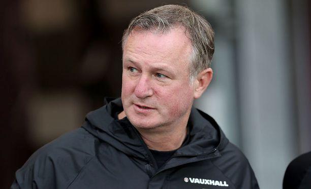 Michael O'Neill aloitti Pohjois-Irlannin päävalmentajana vuonna 2012.