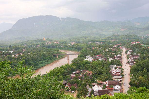 Luang Prabang sijaitsee kahden joen yhtymäkohdassa.