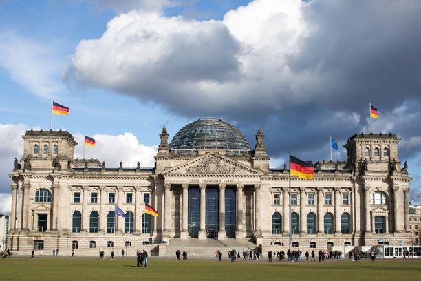 Saksan parlamentti rakennettiin vuonna 1894.