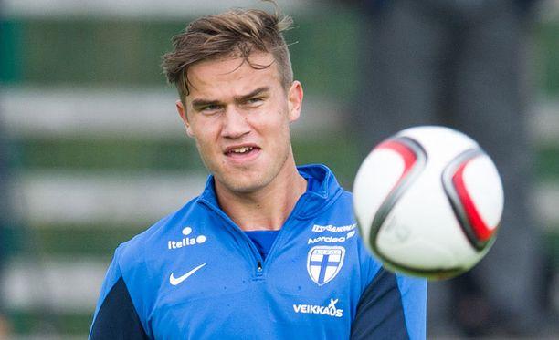Eero Markkasen oma korisura jäi lyhyeksi.