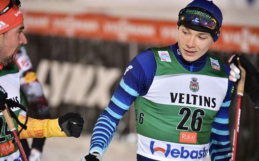 Yhdistetyn suomalaiset jäivät kauas kärjestä – Eero Hirvonen paras kotimainen hiihtäjä