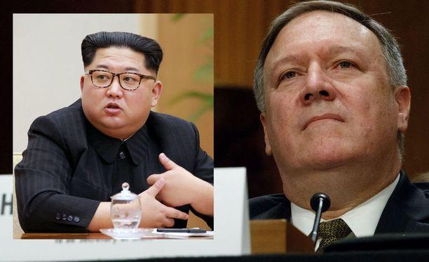 Nimettömien lähteiden mukaan Pompeo tapasi Kim Jong-unin Pohjois-Koreassa pääsiäisenä.