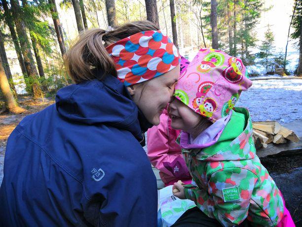 Retkeily on lapsille ja vanhemmille yhdessäoloa ilman arkiaskareita ja stressiä.