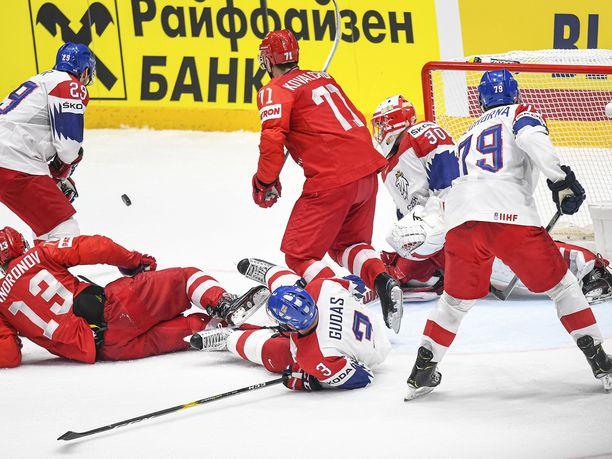 Venäjä ja Tshekki taistelivat MM-pronssista pitkän kaavan kautta.