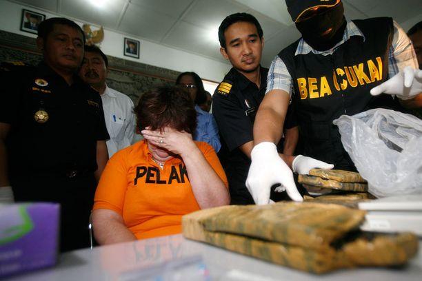 Sandiford yritti salakuljettaa suuren määrän kokaiinia Balin saarelle.
