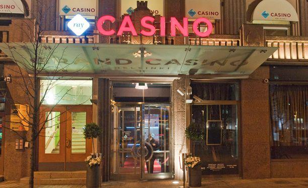 RAY:n kasino sijaitsee entuudestaan Helsingissä. Kuvituskuva.