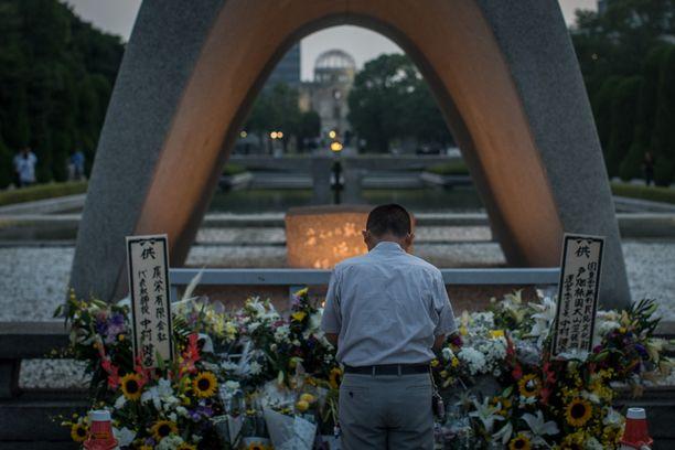 Japanin parlamentti julisti Hiroshiman vuonna 1949 Rauhan kaupungiksi toisen maailmansodan jälkeen.