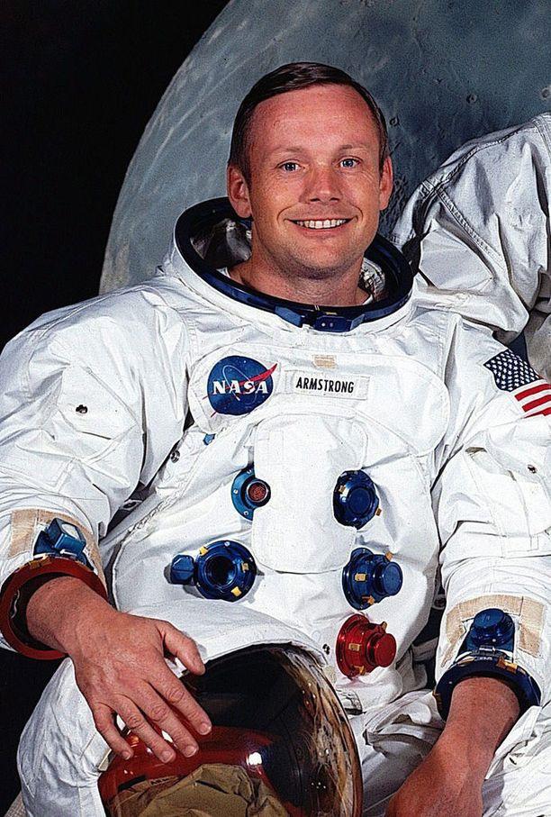 Neil Armstrong kuoli vuonna 2012.