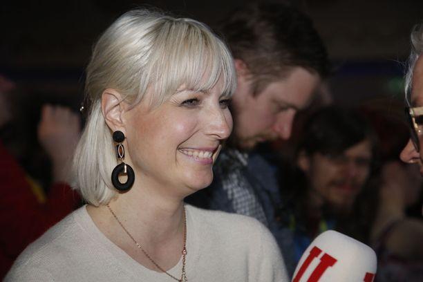 Laura Huhtasaaren mielestä perussuomalaisten vaalitulos on kansallismielisyyden kunniapalautus.
