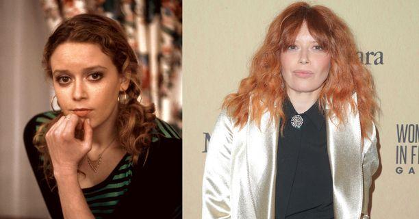 Natasha Lyonne vuonna 2001 ja 2019.