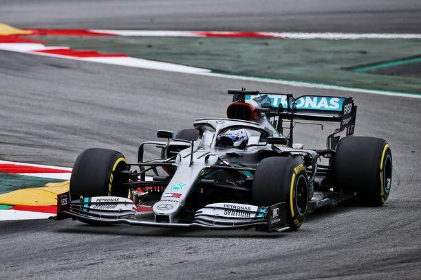 Valtteri Bottas on ajanut Mercedeksellä kaudesta 2017.