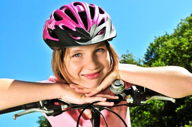 Hyvä liikuntalaji astmaatikolle on esimerkiksi pyöräily.