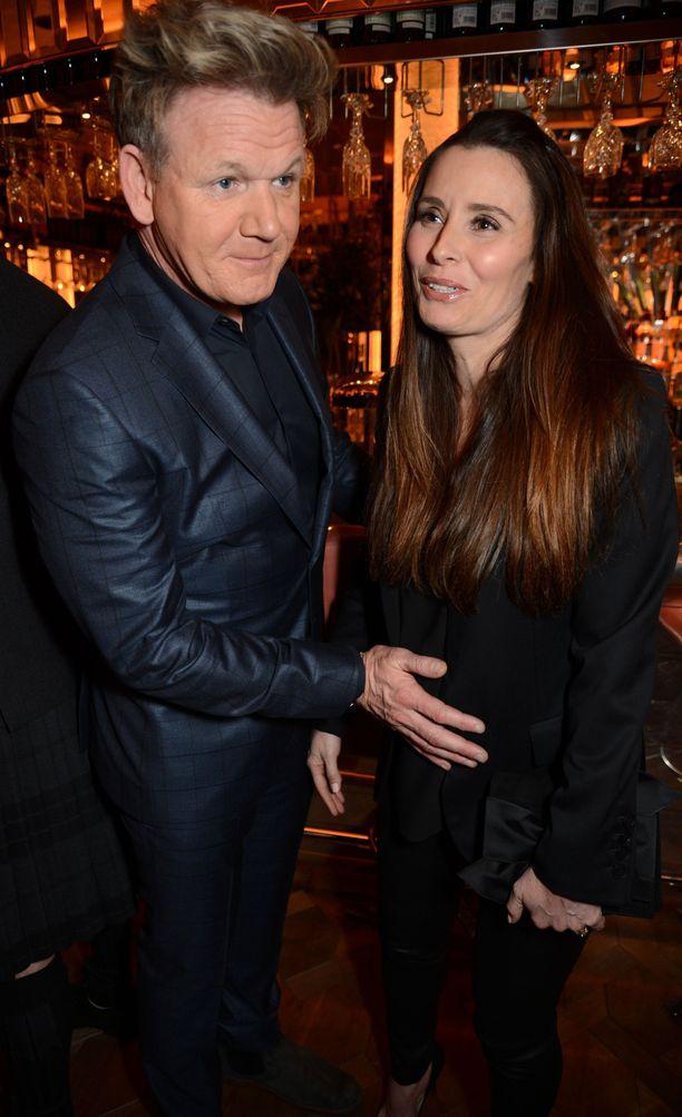 Gordon Ramsayn ei tarvitse enää taputella Tana-vaimonsa vatsaa: Oscar-vauva on täällä!