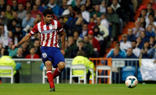 Atleticon Costa ratkaisi ottelun maalillaan.
