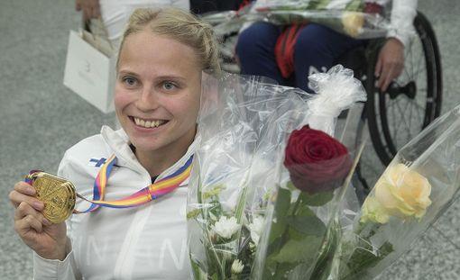 Amanda Kotaja voitti kesällä MM-kultaa ratakelauksessa.