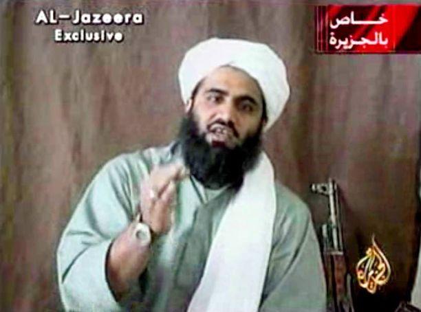 Sulaiman Abu Ghaith toimi al-Qaidan puhemiehenä syyskuun 11. päivän iskujen jälkeen.