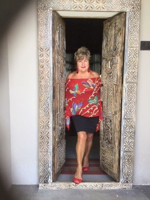 Kotiovella Mauritiuksella.