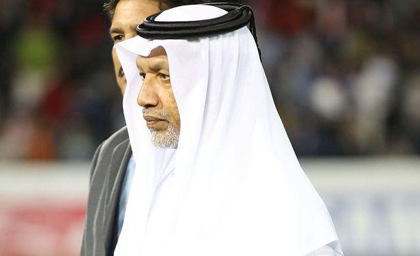 Fifan entistä varapuheenjohtajaa Mohammed Bin Hammamia syytetään korruptiosta.