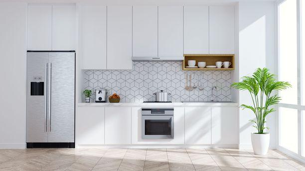 Seesteinen valkoinen keittiö on ollut jo vuosia suomalaisten suosikki.