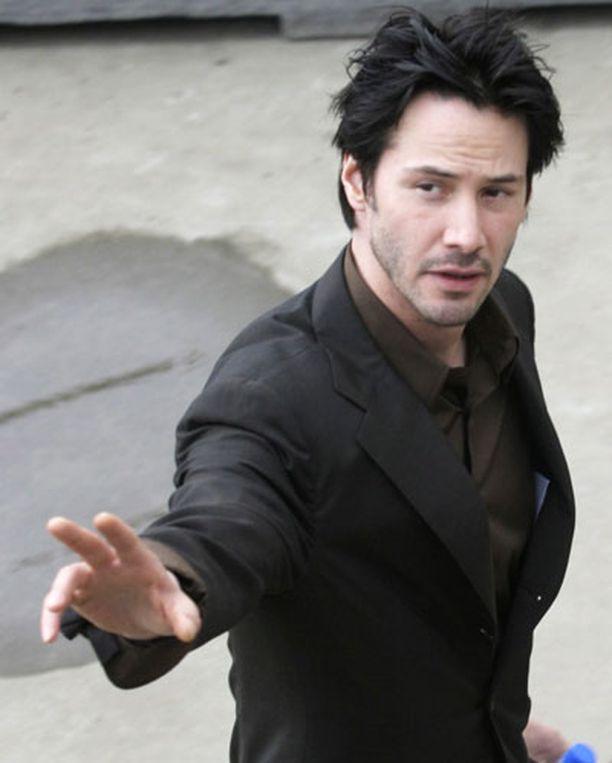 Keanu Reeves näytteli Neoa Matrix-elokuvassa.