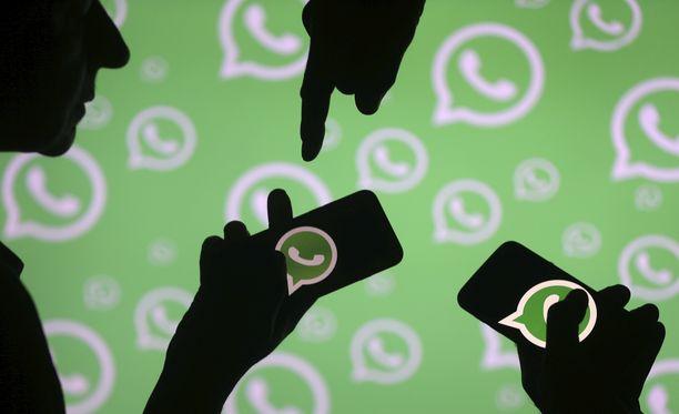 Whatsappiin pystyy pian lisäämään kontakteja QR-koodien avulla.