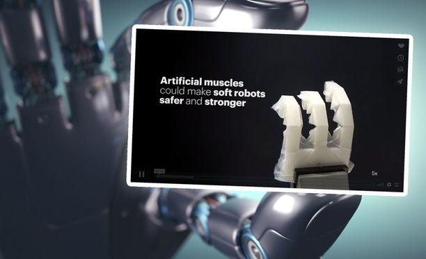 Roboottikädellä voi olla tulevaisuudessa monia käyttötapoja.