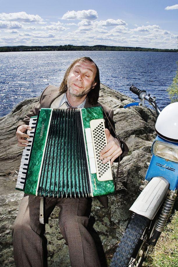 Maalaiskomedia-sarjan Ilmari Piiparinen lienee Suomen tunnetuin kanttori.