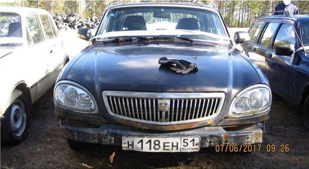 Volga vuosikertaa 2006, pientä pintaruostetta on tosin kertynyt ruplahymyyn.