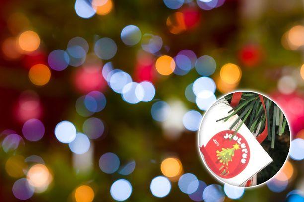 Joulupuu-keräyksen ideana on antaa lahjoja lapsille ja nuorille, jotka eivät niitä muuten välttämättä saisi.