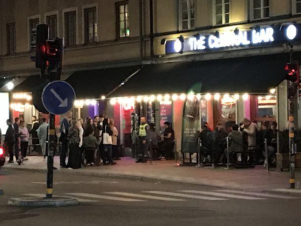 Tukholmalainen The Central Bar oli yksi niistä baareista, jotka viranomaiset sulkivat hetkeksi huhtikuussa, koska ravintola ei toiminut annettujen koronaohjeistuksien mukaisesti.