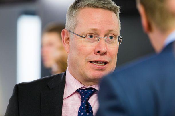 Keskuskauppakamarin kansainvälisten asioiden johtaja ja kansainvälisen kauppakamarin maajohtaja Timo Vuori.