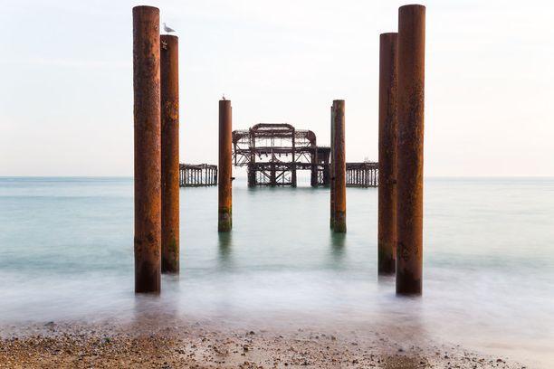 1860-luvulla rakennettu ja nyt jo suurelta osin tuhoutunut laituri Englannin Brightonissa ylsi kilpailun 11. sijalle.