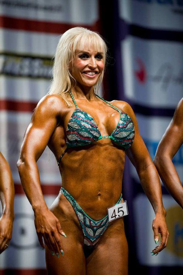 JÄLKEEN: Jutta vuonna 2011, voitettuaan juuri body fitnessin SM-tittelin.