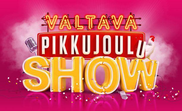 Valtava pikkujoulushow Seinäjoki Areenalla 24.11.2018.