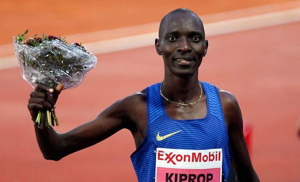 Asbel Kiprop on voittanut maililla olympiakullan ja kolme maailmanmestaruutta.