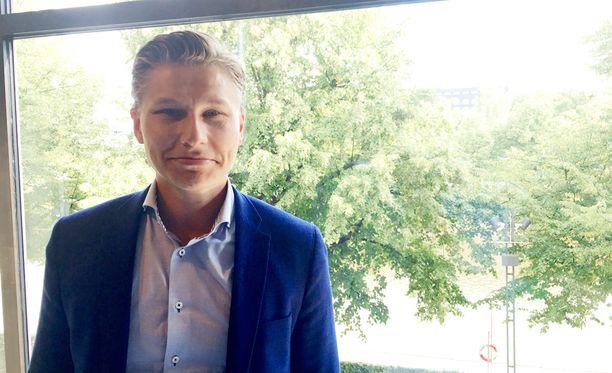 Antti Häkkänen on nyt hallituksen nuorin ministeri.