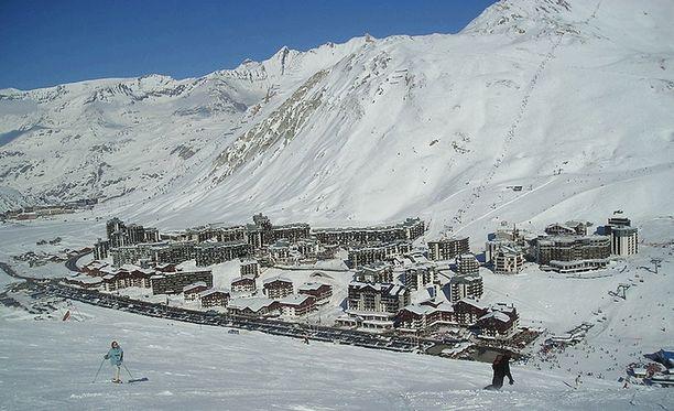 Tignes sijaitsee Ranskan Alpeilla.