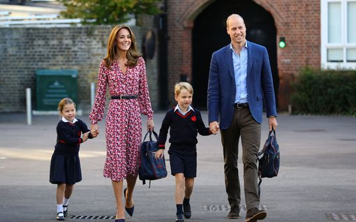 William ja Catherine eivät päästä prinsessa Charlottea vielä takaisin kouluun