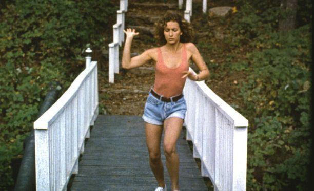 Jennifer Grey elokuvassa Dirty Dancing.