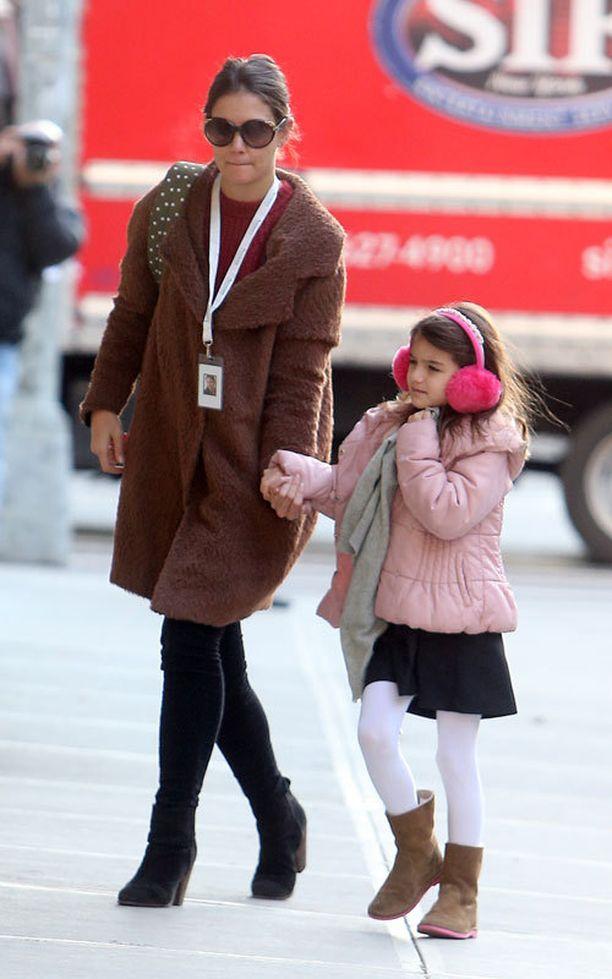 Katie Holmesin Suri-tytär on jo kirjoittanut toivelistansa joulupukille.