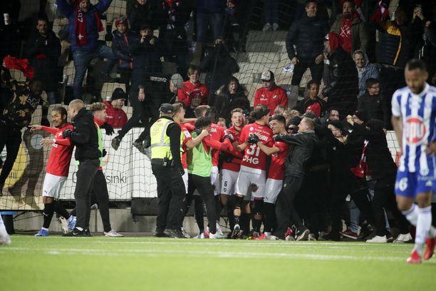 HIFK juhli 2–0-osumaa kann