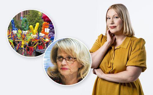 Sanna Ukkolan kolumni: Vihaan Päivi Räsäsen homopuheita – mutta hänen kohtelunsa on järkyttävä farssi