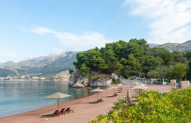 Edullisesta Montenegrosta löytyy upeita rantoja.