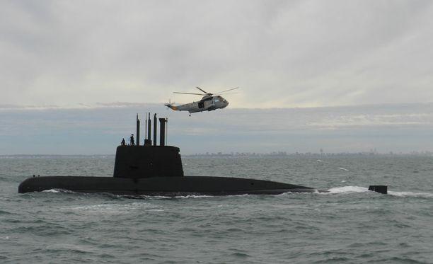 Päiväyksetön valokuva kadonneesta aluksesta. Argentiina kertoo ARA San Juan -aluksen kadonneen keskiviikkona.