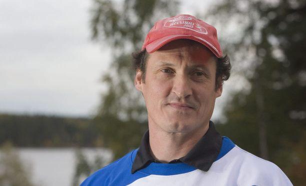 Kimmo Kinnunen on valmentanut latvialaisia keihäänheittäjiä loppuvuodesta 2014 alkaen.