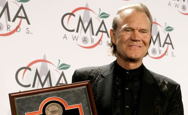 Country-laulaja Glen Campbell on kuollut.