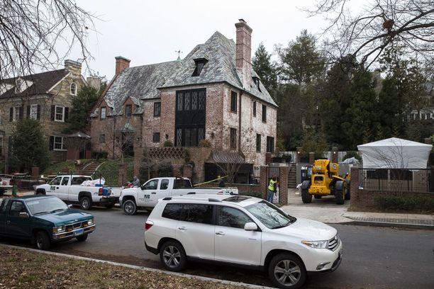 Obaman luksusasuntoa rempattiin tammikuun alussa.
